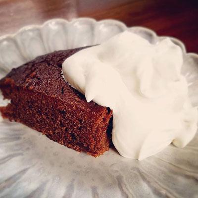 """""""手作りチョコレートケーキ"""""""