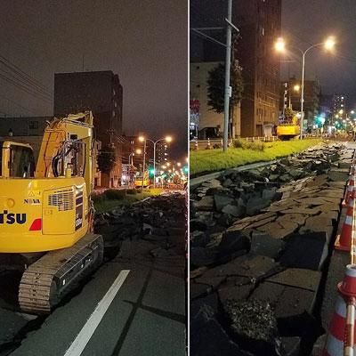 """""""北海道胆振東部地震"""""""