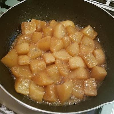 大根のピリ辛煮