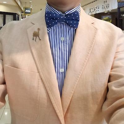 203aec5dfb お気に入りのファッションアイテムは蝶タイ<本日のいでたち> | 札幌のWebプランナー 松島タツオのさっぽろ生活情報