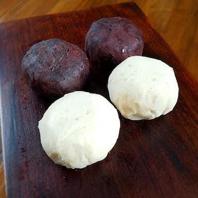 白花豆のおはぎ
