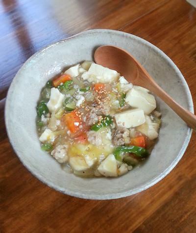豚肉と豆腐のとろみ炒め