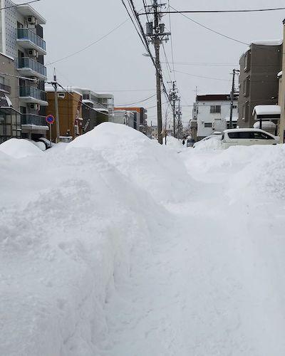 札幌の大雪