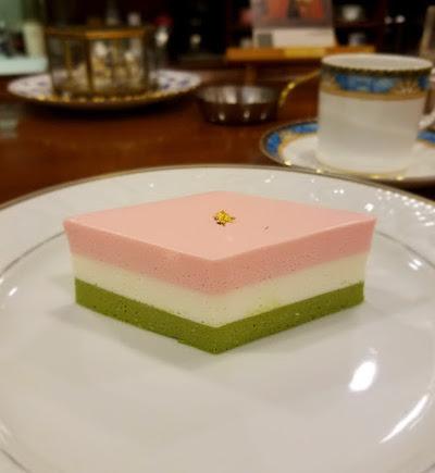 三色クリームチーズケーキ