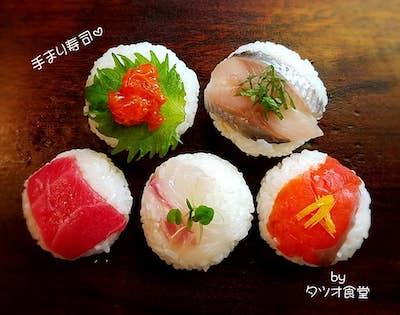 可愛い手まり寿司